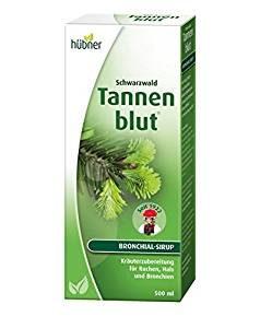 Hustensaft Pflanzlich Hübner - Tannenblut Bronchial-Sirup