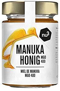 nu3 - natürlicher Manuka Honig Mgo 400