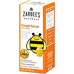 Zarbee's, All-Natural Children's Cough Syrup, 12 Months