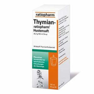 Ratiopharm Thymian Hustensaft 100 ml