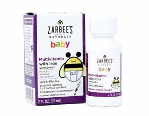 Baby Hustensaft Naturals, Baby, Multivitamin, mit Eisen, Naturtraubengeschmack